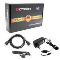 Preview: OCTAGON SX88+ SE WL CA HD HEVC FULL HD STALKER IPTV MULTISTREAM WLAN SAT DVB-S2 RECEIVER