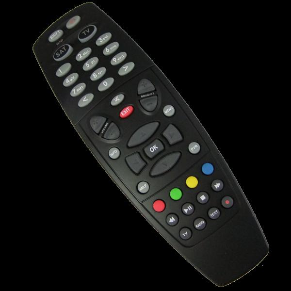 Fernbedienung für Dreambox 600/7000/7020/500HD/800HD/7020HD/8000HD Schwarz