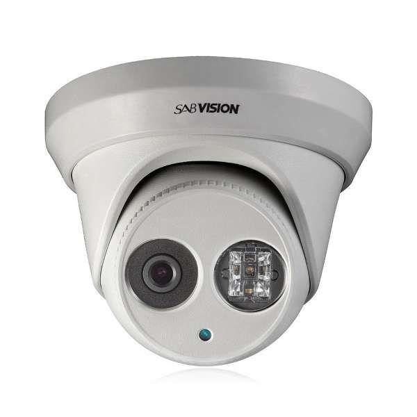 Sabvision 2300 Exir Turret 2.5K QHD 4MP 2688 x 1520 Pixel 2.8mm Fixed WDR PoE IP67 IP-Kamera