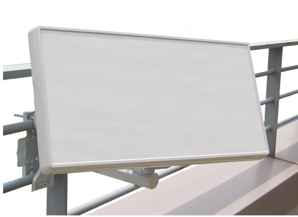 Selfsat H21D1+ 1 TV Teilnehmer SAT Flachantenne FLAT + Fensterdurchführung + Kabel FULL HD 4K