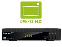 Micro m4HD IR DVB-T2 HDTV Receiver H.265/HEVC USB PVR Freenet TV