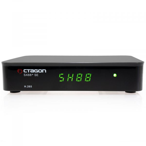 OCTAGON SX88+ SE CA HD HEVC FULL HD MULTISTREAM SAT DVB-S2X+IP RECEIVER