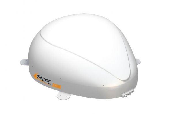 Selfsat SNIPE Dome AD Single GPS Vollautomatische Satelliten Antenne