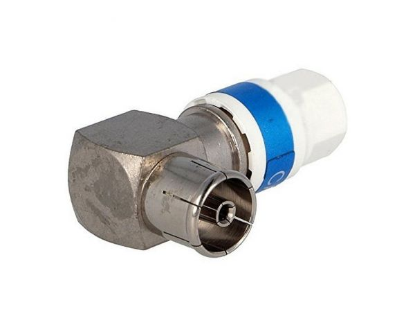 Cabelcon 90-IECF-56 5.1 Self Install Koax-Winkel-Kupplung