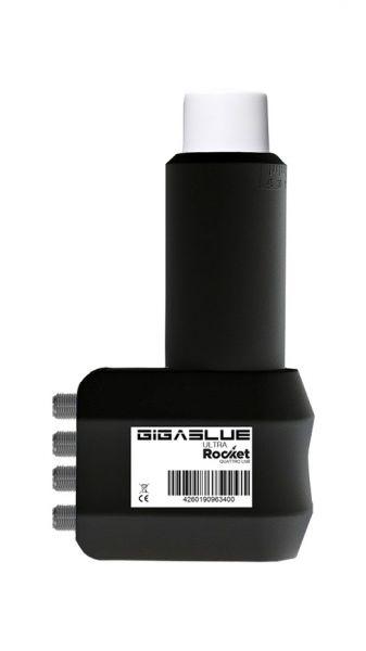 Gigablue Ultra Rocket Quattro Multifeed LNB 40mm Feed 0.1dB FullHD