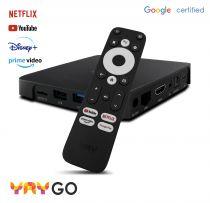 Vorschau: YAY GO Android TV HIGH-END 4K UHD Streaming Box Android 10.0 und Chromecast integriert