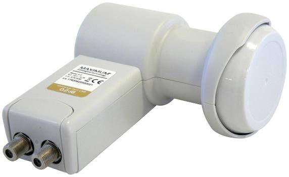 Maximum XO-12 Twin LNB 40mm Feed 0,1 dB HDTV