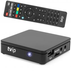 TVIP S-Box v.415 IPTV/OTT Media Player 2.4/5GHz WLAN
