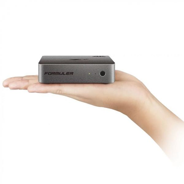 Formuler Z Plus 4K 30fps UHD Android IPTV Player H.265 HEVC WLAN Anthrazit