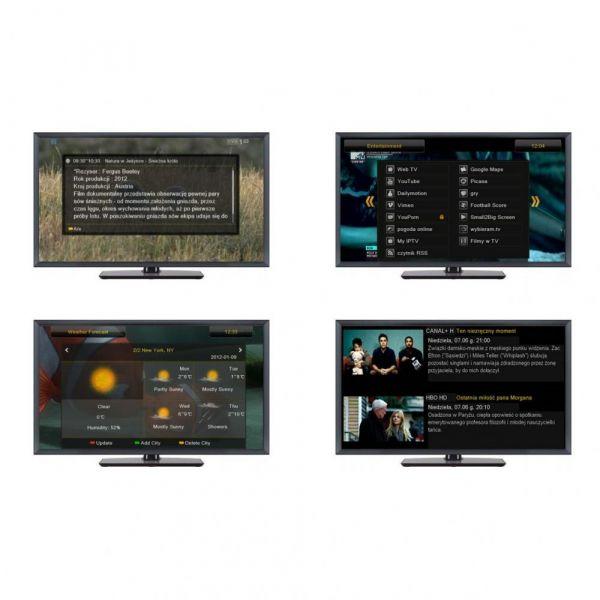 Ferguson Ariva 53 Full HD HDTV USB Sat Receiver Schwarz