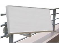 Vorschau: Selfsat H2D1+ 1 TV Teilnehmer SAT Flachantenne FLAT + profi Fensterdurchführung + Kabel FULL HD 4K