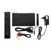 Vorschau: Dinobot 4K+ UHD 2160p H.265 HEVC E2 Linux Android Dual Wifi DVB-S2/T2C Combo Sat Receiver