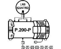 Vorschau: Profi-Line Multischalter EMP Centauri 4/8 Unicable (P.200-P)